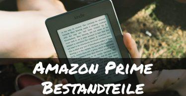 Bestandteile einer Amazon Prime Mitgliedschaft