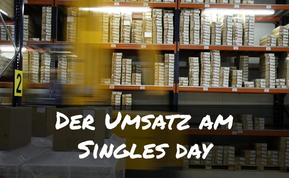 Singles Day Umsatz